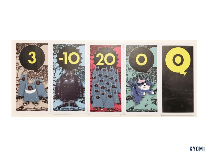 コヨーテ-カードの種類