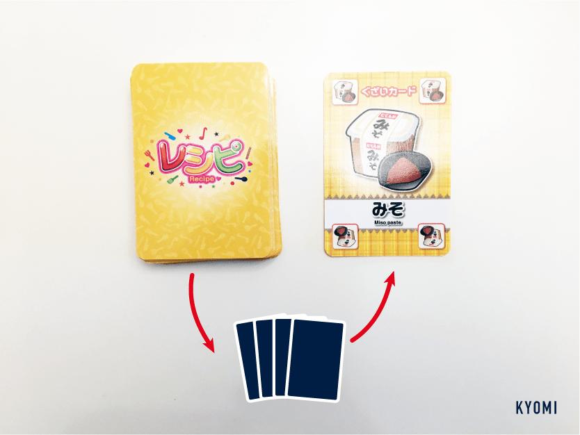 レシピ-写真-カード交換