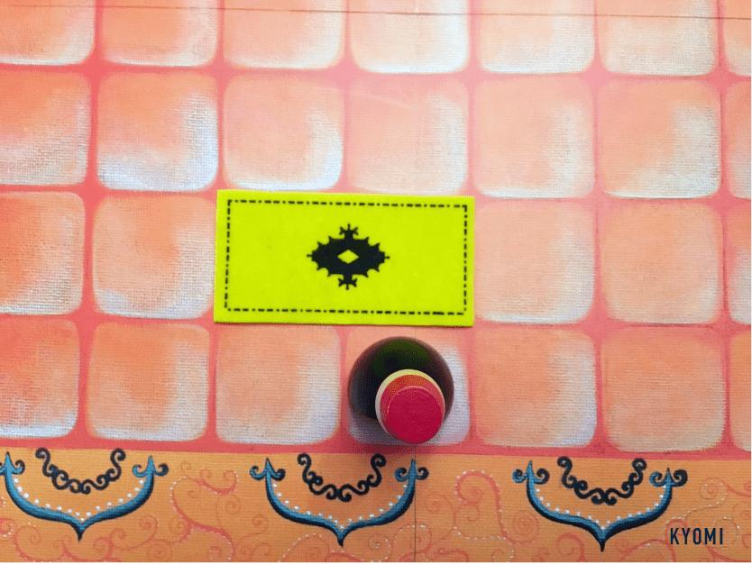 マラケシュ-写真-絨毯を敷く