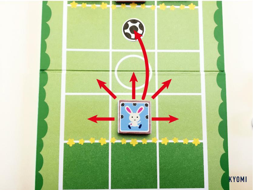 どうぶつサッカー-写真-うさぎ