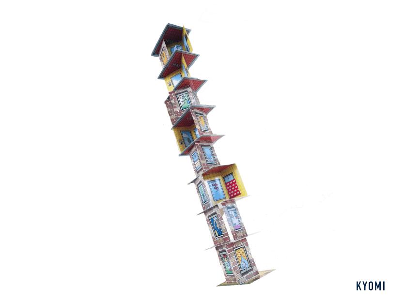 キャプテンリノ-写真-高く積み上げる