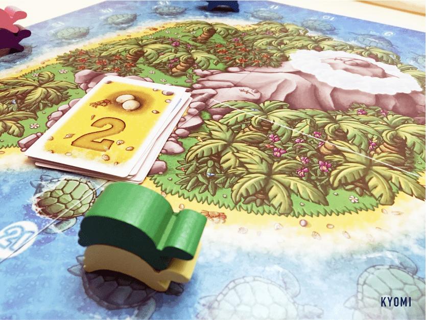 ウミガメの島-写真-ゲームプレイの様子