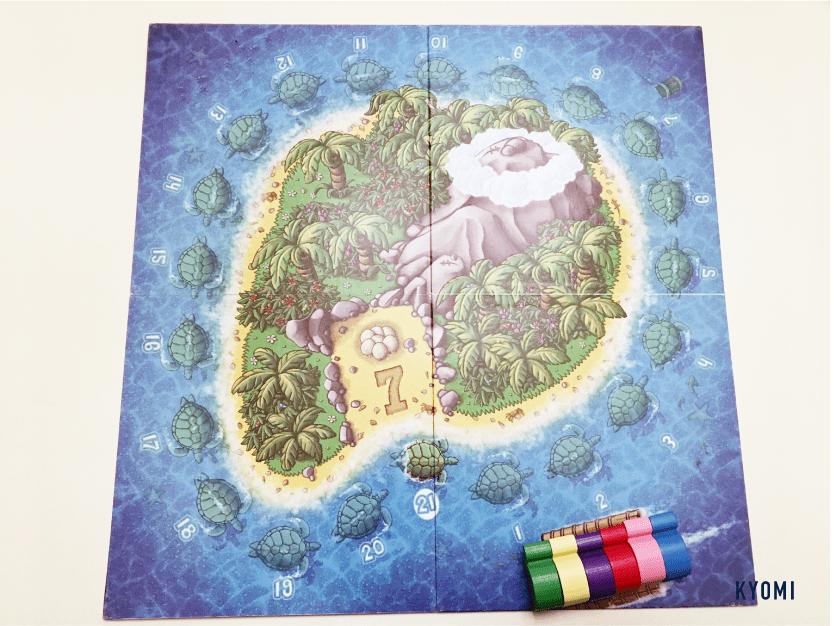 ウミガメの島-写真-スタート