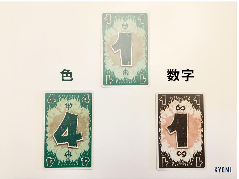 インフェルノ-写真-カードの出し方