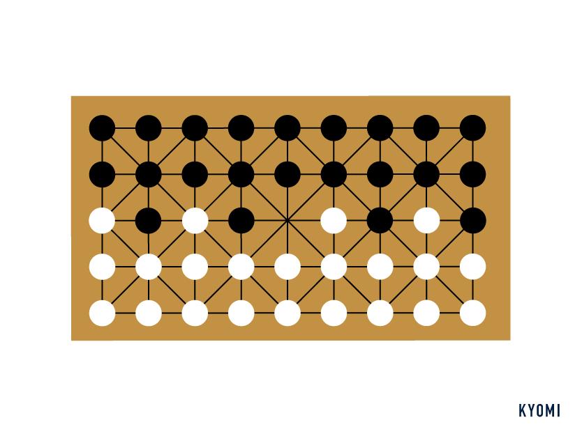 fanorona-図-セットアップ