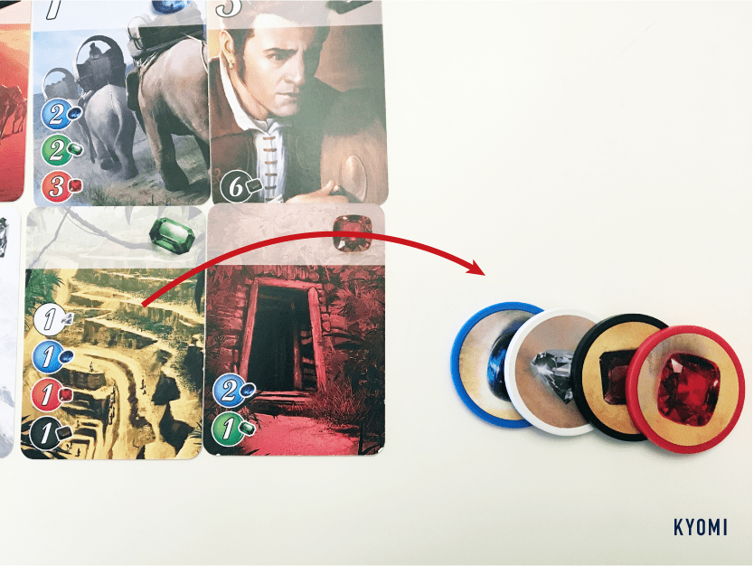 宝石のきらめき-写真-カード購入