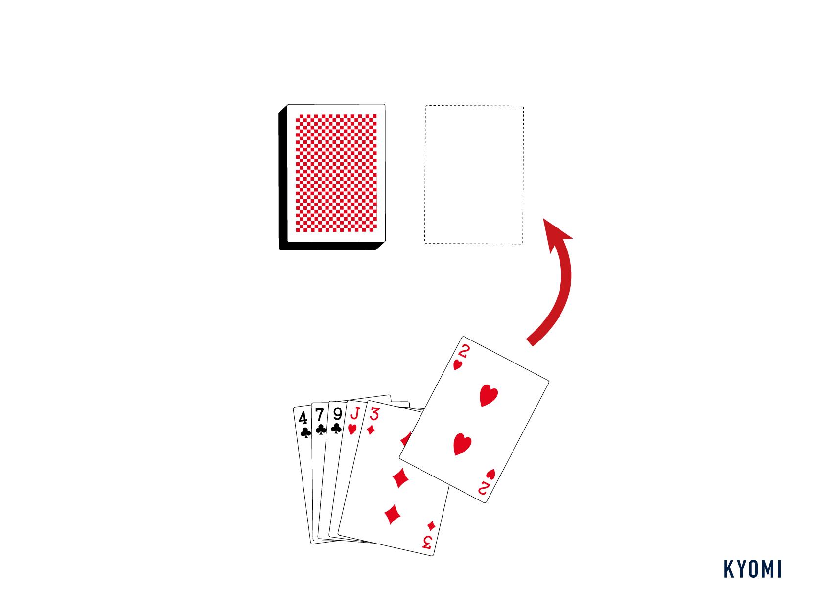 ミッチ-トランプ-カードを捨てる