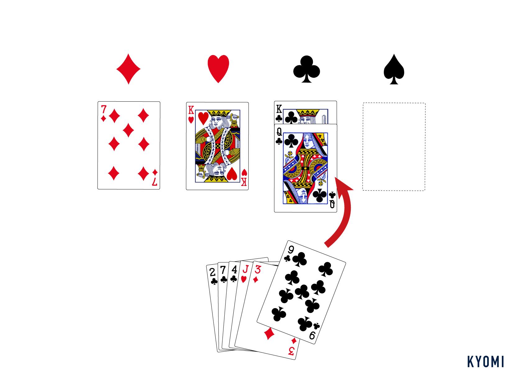 ミッチ-トランプ-カードをプレイ