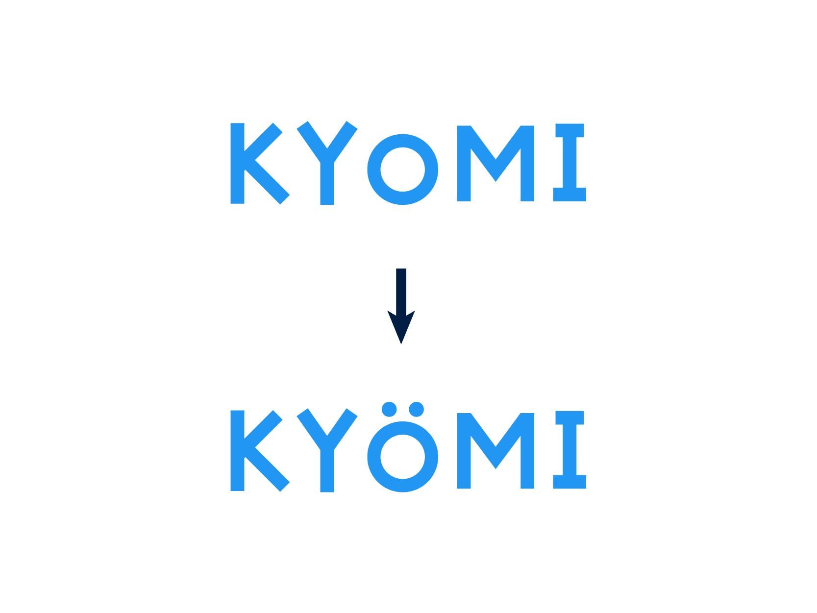 ロゴデザイン-ウムラウト