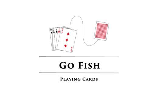 ゴーフィッシュ/Go Fish 超おすすめトランプゲーム紹介