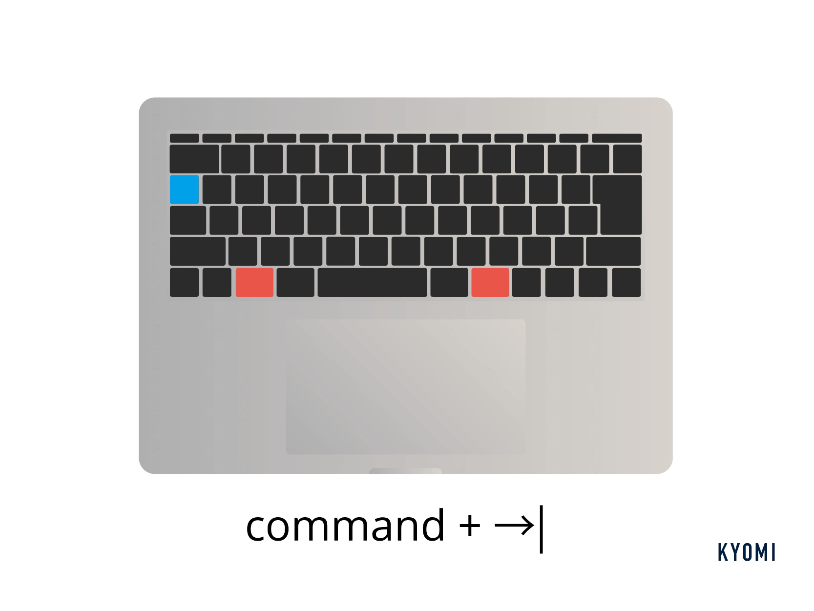 macキーボードショートカット種類-アプリ一覧表示