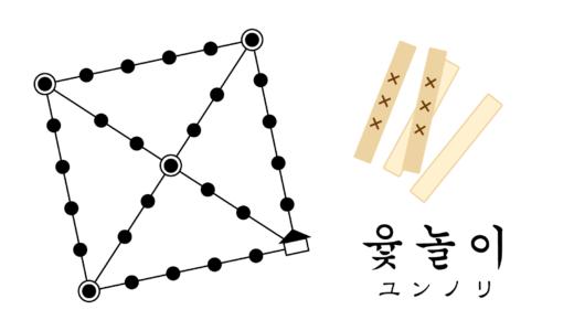 朝鮮半島に伝わる伝統ゲーム「ユンノリ」の遊び方