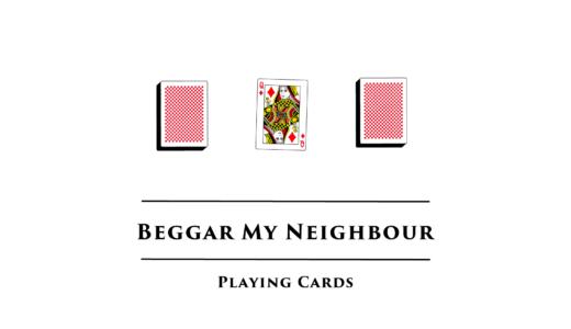 すかんぴん/Beggar My Neighbour 2人用トランプゲームで楽しく運試し!